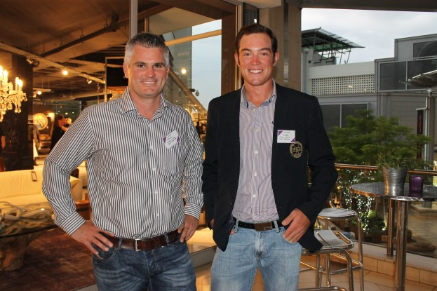 Andrew Mckenna and Christo Kruger (Silver Lakes Golf Estate).